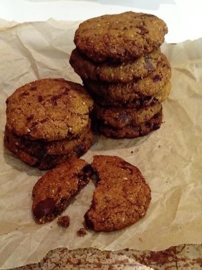 rye choc chip biscuits